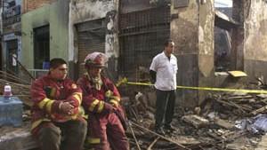 Verkäufer verursachte tödliches Inferno in Lima