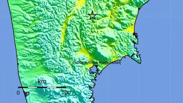 Schweres Erdbeben erschüttert Kamtschatka