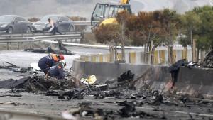 Mindestens fünf Tote bei Absturz von Hubschrauber in Istanbul