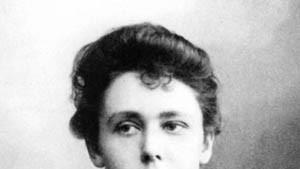 Die erste deutsche Professorin