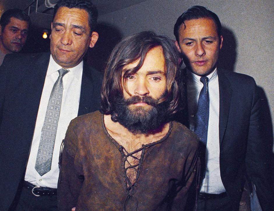 Charles Manson wurde 1969 vor Gericht gebracht.