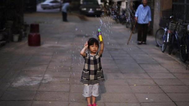 Kleines chinesisches Mädchen