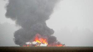 Vier Männer sterben bei Flugzeugabsturz