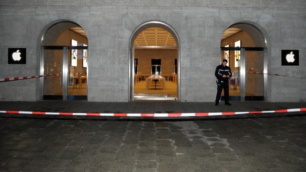 Apple Store am Ku'damm ausgeräumt