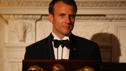 Macron spricht vor dem amerikanischen Kongress