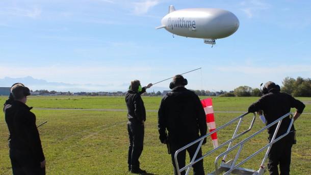 Der Zeppelin soll Münchner werden