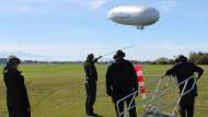 Genügsam: Der Zeppelin braucht nicht nur wenig Treibstoff, sondern auch kaum Bodenpersonal.