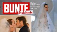 Mit Romantik hat Angelinas Hochzeitskleid wenig zu tun