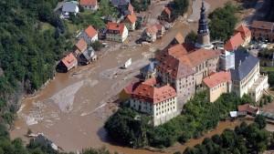 Seit der Flut gibt es zwei Weesensteins