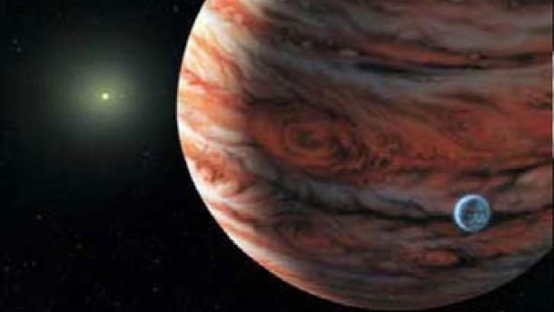 Planet in jupiterähnlicher Umlaufbahn entdeckt