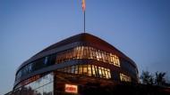 Bis in die späten Abendstunden verhandelten CDU und CSU im Konrad-Adenauer-Haus in Berlin.