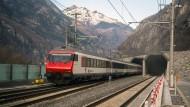 Der längste Eisenbahntunnel der Welt ist in Betrieb