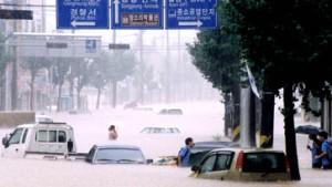 150 Tote und Vermisste nach Taifun in Südkorea
