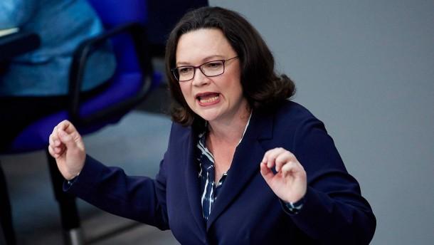 Nicht einmal SPD-Anhänger vertrauen Nahles