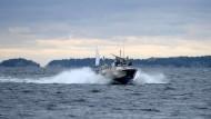 Schwedische Armee geht weiter fremder Unterwasseraktivität nach
