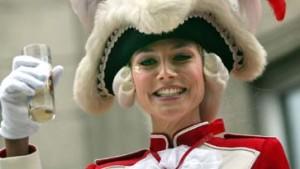 Heidi Klum fotografiert für den WDR