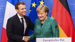 Frankreich erfreut über Merkels Annäherung bei EU-Reform