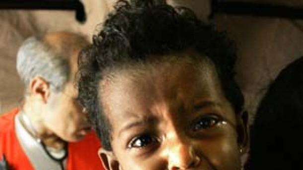 Erhöhte Kindersterblichkeit in Katastrophenregion