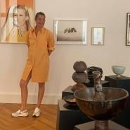 Kirsten Landwehr mit ihrer Keramik