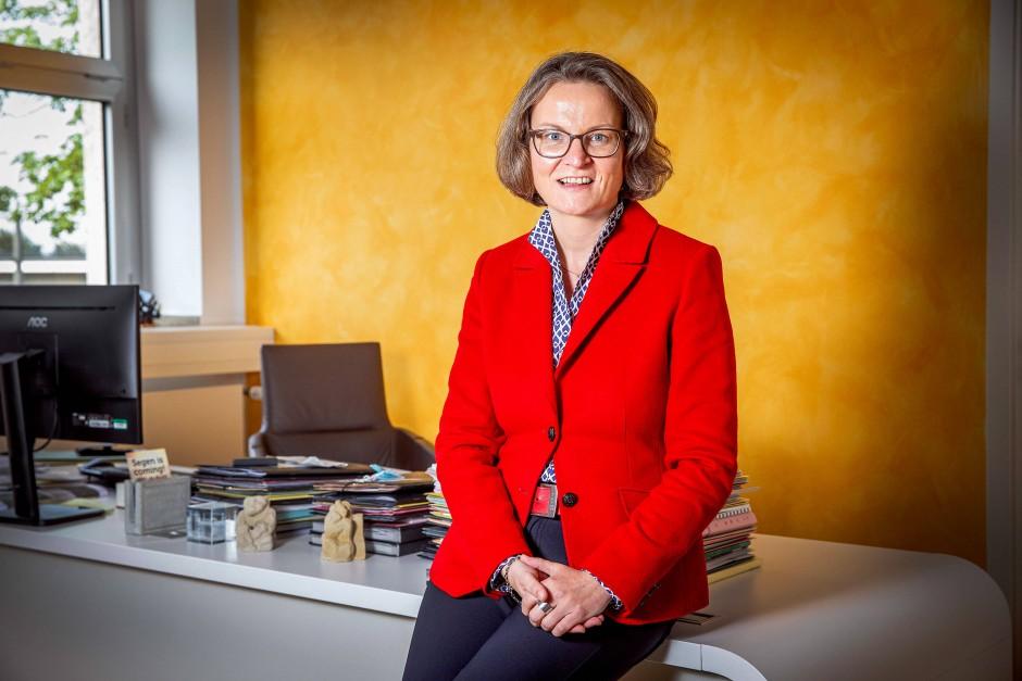 Auch sie wird als Laschet-Nachfolgerin gehandelt: Ina Scharrenbach, Ministerin für Heimat, Kommunales, Bauen und Gleichstellung in Nordrhein-Westfalen
