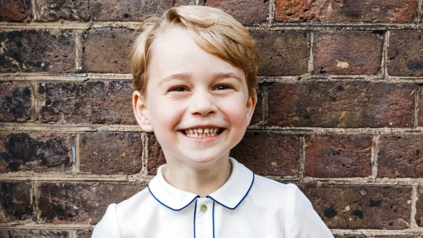 Prinz George wird fünf