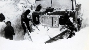 Vor 30 Jahren kam der Blizzard über den Norden