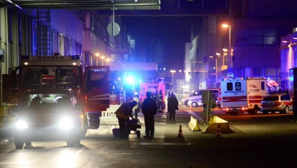 Chemie-Unfall in Daimler-Werk