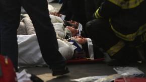 Verletzte nach dem Fährunglück