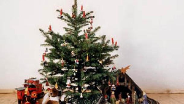 Der Siegeszug des Weihnachtsbaums
