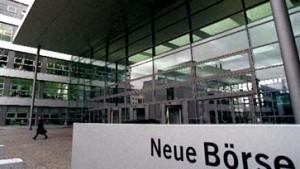 Deutsche Börse zeitweise geräumt