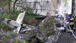 Cessna in Berlin abgestürzt