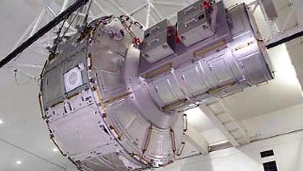 Archiv: ISS erhält ein Tor ins All