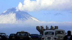 Entwarnung am Vulkan Mayon