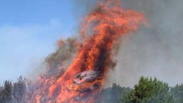 Waldbrände in Nordspanien