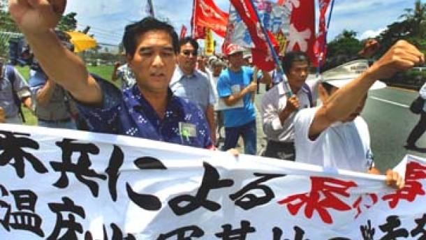 USA will Soldaten an japanische Justiz übergeben