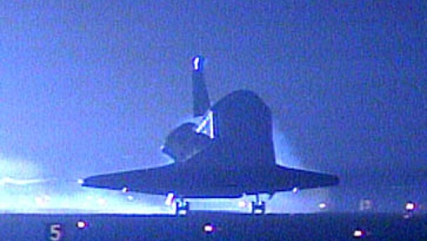 Hubble-Wartungsteam zurück auf der Erde