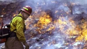 Hohe Luftfeuchtigkeit hilft der Feuerwehr