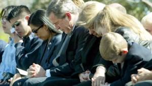 Trauerfeier für die Columbia-Astronauten