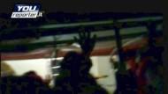Ein Amateurvideo, aufgenommen von Passagieren der havarierten Costa Concordia, verdeutlicht die Angst der Menschen an Bord nach der Havarie.