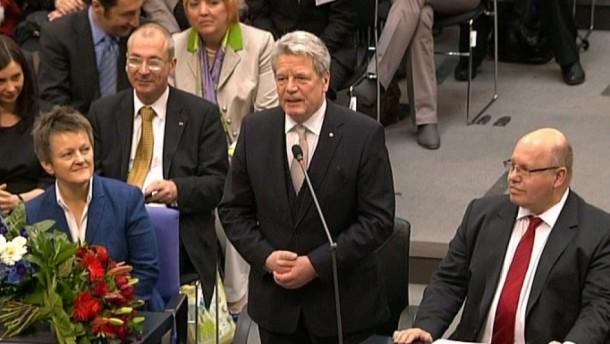 Joachim Gauck ist der neue Bundespräsident.