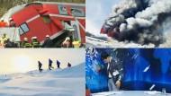 Zugunglück und Nordpol-Marathon