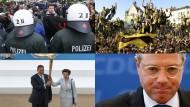 Blockupy und Fußball-Double