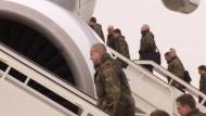Das Hauptkontingent der Bundeswehr für den Patriot-Einsatz in der Türkei ist gestartet.