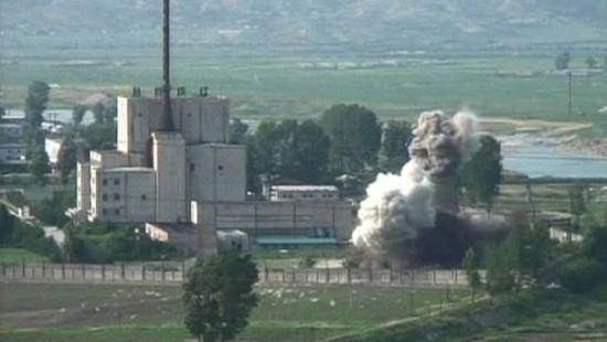 Nervenkrieg um Nordkoreas Atomreaktor Yongbyon