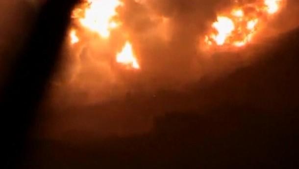 Ziel seien für die libanesische Hisbollah-Miliz bestimmte Raketen aus dem Iran gewesen.
