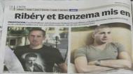 Den Fußball-Stars Franck Ribery und Karim Benzema wird Sex mit einer minderjährigen Prostituierten vorgeworfen.