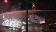 In Ankara hat die Polizei erneut einen friedlichen Protest aufgelöst.
