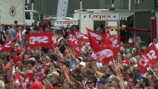 SPD feiert 150-jähriges Bestehen mit Deutschlandfest