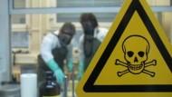 So werden Chemiewaffen untersucht