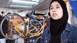 Fahrräder - die Chance für junge Marokkaner